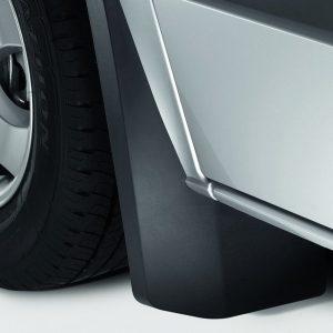 Брызговики задние Volkswagen Crafter 2006-2016, для автомобилей с двухрядным расположением колёс