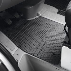 Коврики в салон Volkswagen Crafter 2012-2016, резиновые передние