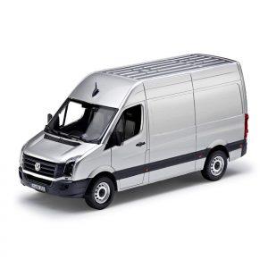 Модель в миниатюре 1:43 Volkswagen Crafter GP, Oxide Silver Metallic