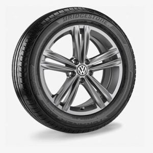 Летнее колесо в сборе VW Polo в дизайне Sebring,  195/55 R16 91V XL, Gray Metallic, 6.5J x 16 ET47