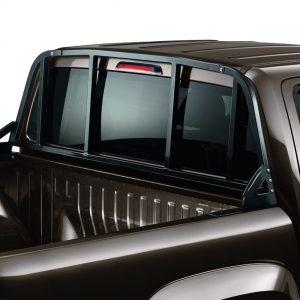 Решётка на заднее стекло кабины Volkswagen Amarok (2H)