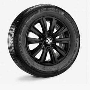 Летнее колесо в сборе VW Amarok в дизайне Durban, 255/60 R18 112V XL, Black, 7.5J x 18 ET45