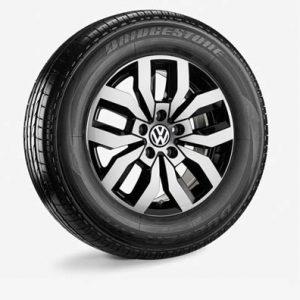 Летнее колесо в сборе VW Amarok в дизайне Rocadura, 245/65 R17 111H XL, Black, 8.0J x 17 ET49