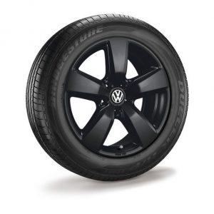 Летнее колесо в сборе VW Amarok в дизайне Aragonit, 255/55 R19 111V XL, Black, 8.0J x 19 ET43