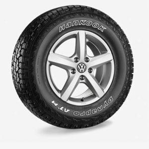 Летнее колесо в сборе VW Amarok в дизайне Aspen, 245/70 R16 111T XL, Silver, 6.5J x 16 ET62