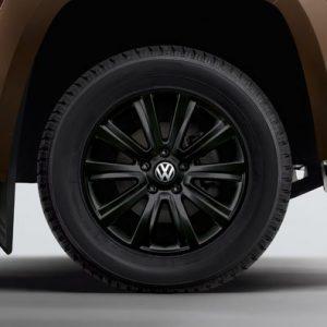 Диск литой R18 Volkswagen Amarok (2H) , Durban Black, 7,5J x 18 ET45