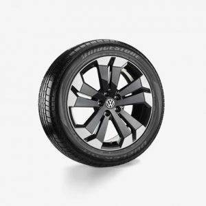 Летнее колесо в сборе VW Amarok в дизайне Nazare, 255/50 R20 109H XL, Graphite Metallic, 8.0J x 20 ET43