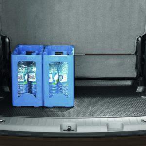 Коврик в багажник Volkswagen Caddy, 7-местный, для автомобилей с базовым полом багажника