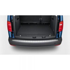 Защитная накладка на задний бампер Volkswagen Caddy 4