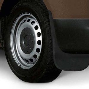 Брызговики задние Volkswagen Caddy 4 с 2015 года, стандартная база