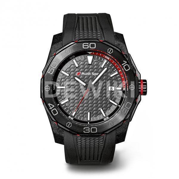 Спортивные наручные часы Audi Sport, черные