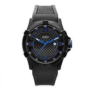 Наручные часы унисекс Audi Watch, Black/Blue