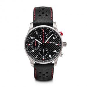 Наручные часы хронограф Audi Sport Carbon, Black