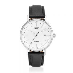 Лимитированные автоматические мужские часы Audi, Silver / Black