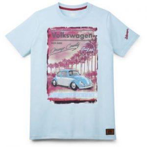 Мужская футболка Volkswagen Classic, Orange County, Turquoise