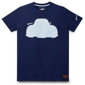 Мужская футболка Volkswagen Classic, Cult Auto, Dark Blue