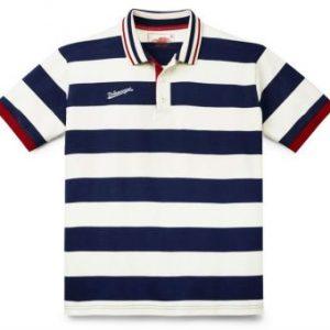 Мужская рубашка-поло Volkswagen Classic, Beige/Blue