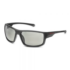 Солнцезащитные очки Audi Sport с зеркальным эффектом, черные / серые