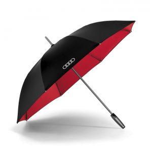 Большой зонт-трость Audi, Black/Red