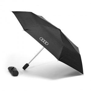 Маленький складной зонт Audi, Black/Titan