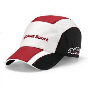 Бейсболка Audi Sport DTM унисекс, White/Black/Red