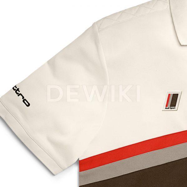 Мужская рубашка-поло Audi Heritage, offwhite