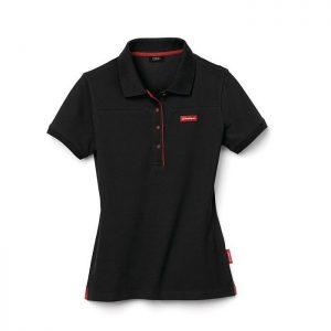 Женская рубашка-поло Audi Sport, Black