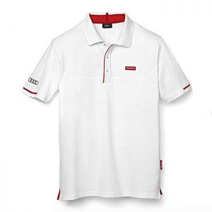 Мужская рубашка-поло Audi Sport, White