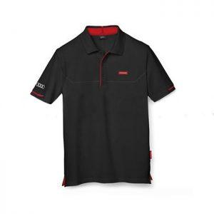 Мужская рубашка-поло Audi Sport, Black