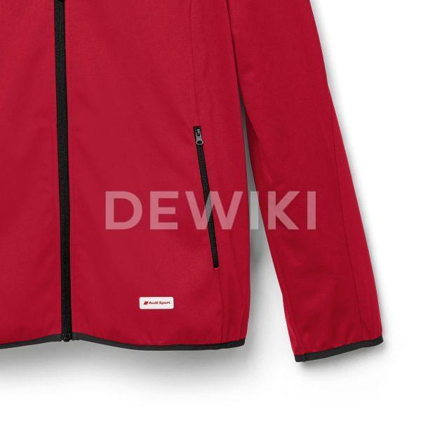 Мужская куртка софтшелл Audi Sport, Red