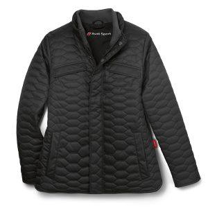 Cтеганая куртка Audi Sport унисекс, Black