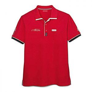 Мужская рубашка-поло Audi Sport Le Mans 2016, Red