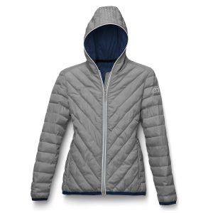 Стеганая женская куртка Audi Lunative, Grey