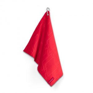 Полотенце маленькое Audi quattro, Red