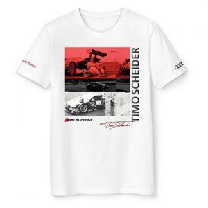Футболка пилота Audi Sport DTM, Timo Scheider