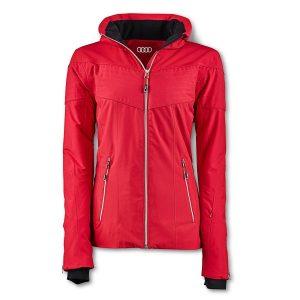Зимняя женская куртка Audi Sport, Red
