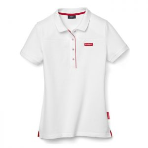 Женская рубашка-поло Audi Sport, White