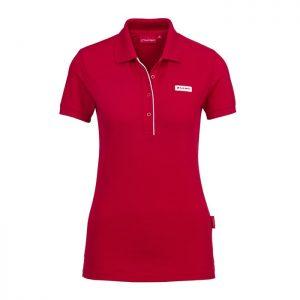 Женская рубашка-поло Audi Sport, Red
