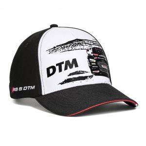 Классическая бейсболка Audi DTM унисекс, Black/White