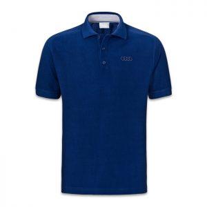 Мужская рубашка-поло Audi Classic Logo, Blue