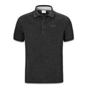 Мужская рубашка-поло Audi Classic Logo, Dark Grey
