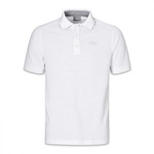 Мужская рубашка-поло Audi Classic Logo, White
