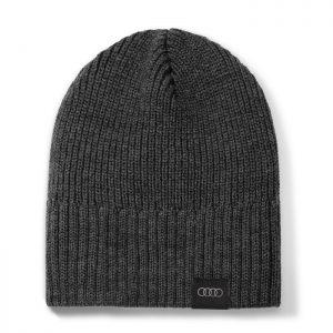 Вязаная шапка унисекс Audi, Grey