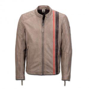 Мужская кожаная куртка Audi Heritage