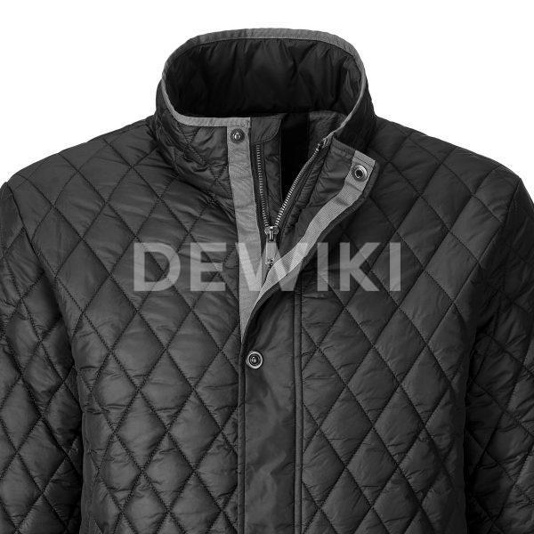 Cтеганая куртка Audi, Black