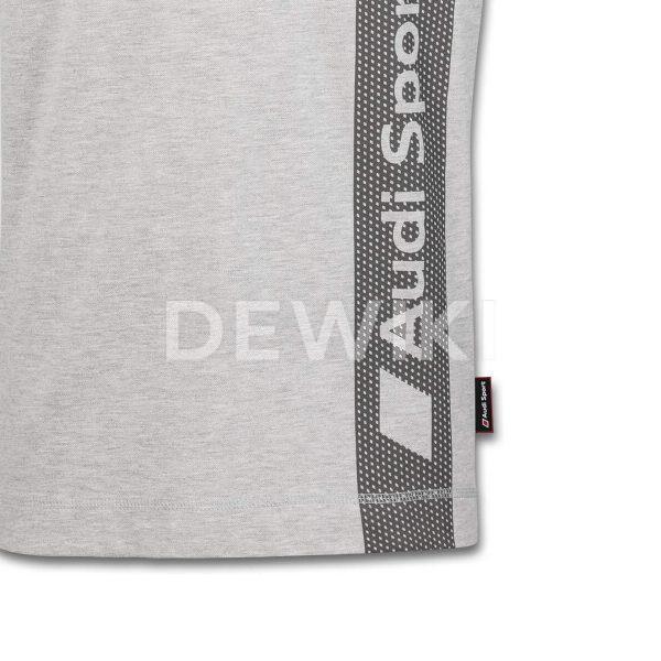 Мужская рубашка-поло Audi Sport, Grey