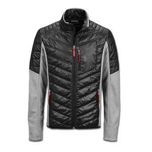 Мужская куртка hybrid Audi Sport, Black / Grey
