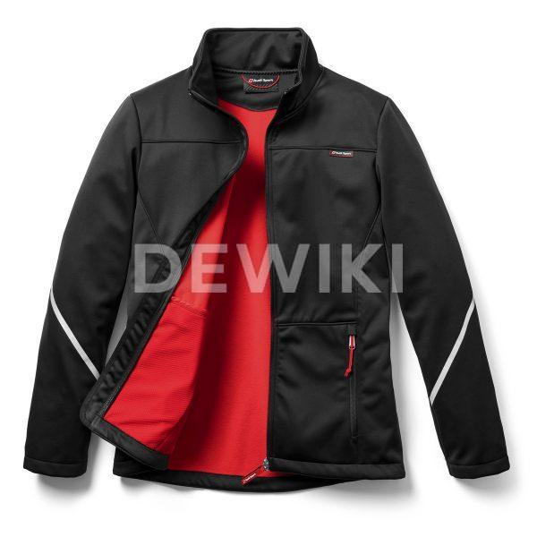 Мужская  софтшелл куртка Audi Sport, Black