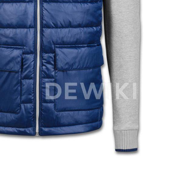 Мужская куртка hybrid Audi, Blue / Grey