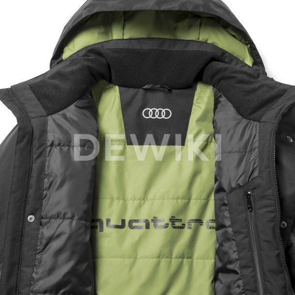 Мужская куртка Audi quattro для активного отдыха, Black